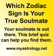 Click to find which zodiac sign is your true soulmate