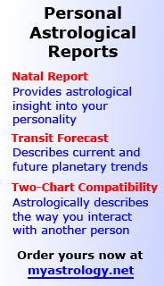 Personal astrological reports at myastrology.net